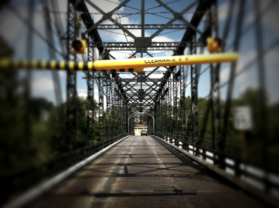 my home town - fallston bridge